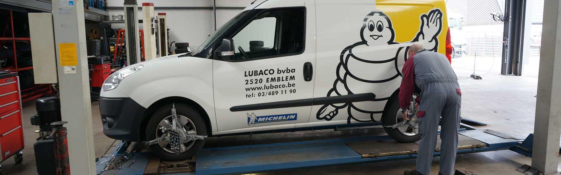 Lubaco-uitlijning
